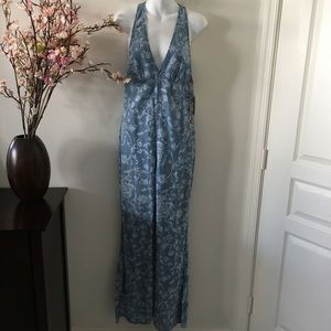 Free People Blue Birthday Batik Floral Jumper 2